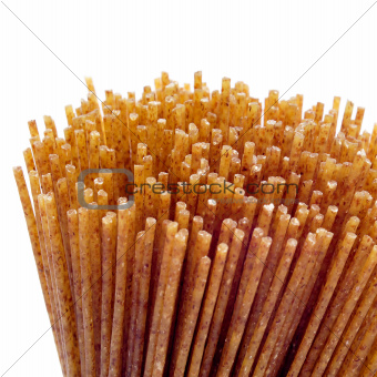 raw whole wheat spaghetti