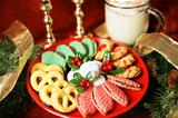 Platter of Christmas Cookies