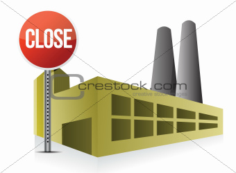 close factory