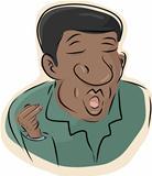 Black Man Singing