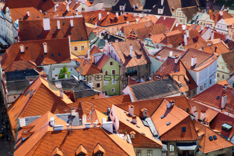 roofs of Krumlov