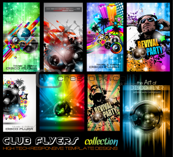 Club Flyers ultimate collection - High quality 