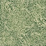 Green abstract fantasy pattern. Contain mesh background, vector,