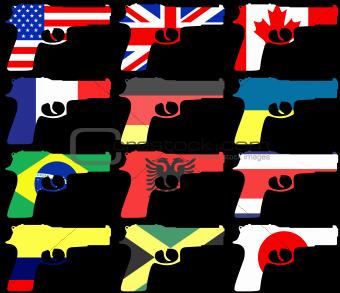 Flag Guns