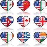 USA divided love