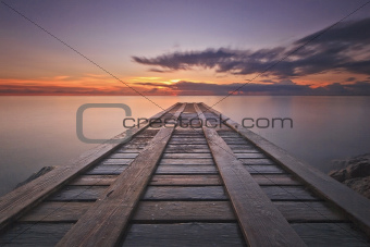 Caribbean Fishing Dock
