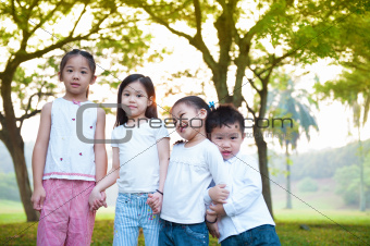 Outdoor fun children