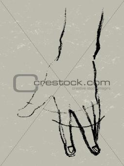 hand rotation sketch