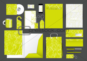 Great stationery design set