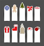 Christmas sticker concepts