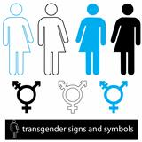 Transgender symbols