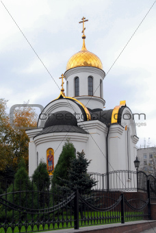 Orthodox Church in the city of Donetsk
