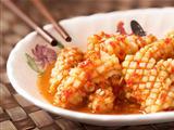sambal belecan squid