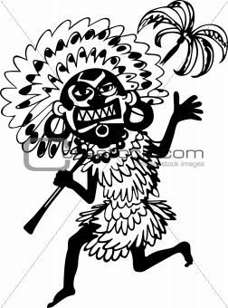 African shaman
