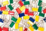 Multicolored Paper Clips