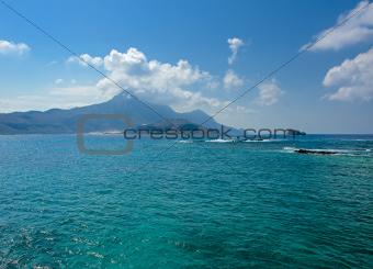 Turquoise Aegean Sea