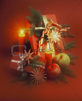 Christmas still-life