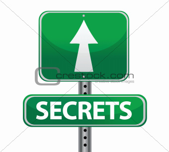 secrets street sign