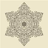 Vector Vintage Highly Detailed Snowflake