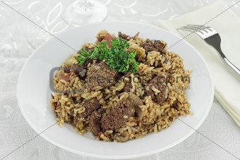 Venison Pilaf