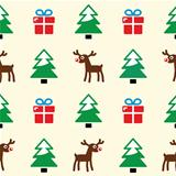 Christmas background - seamless pattern