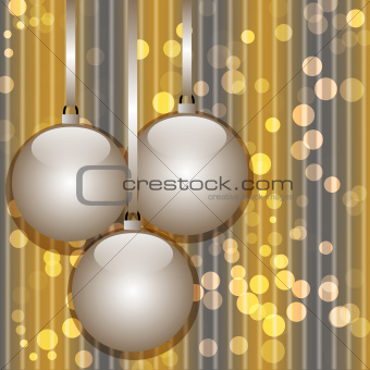Christmas and New Year abstract background