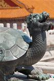 Bronze turtle in China Emperor Forbidden city
