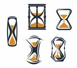 Sandglass symbols
