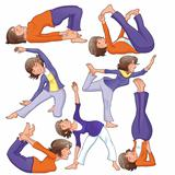 Yoga Positions.