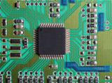 printed circuits with chip