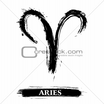 Aries symbol