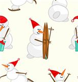 Snowmen Pattern