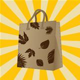 Autumn sales shopping bag