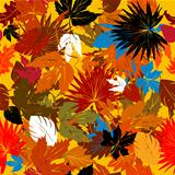 Decorative autumn graphic