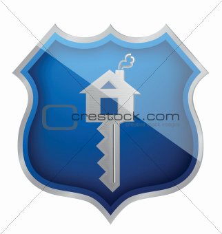 house protected child