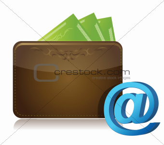 wallet and att sign
