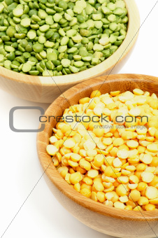 Green and Yellow Peas