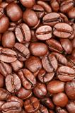 Coffee beans forming a background