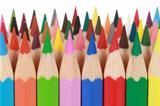 Collection of colored pencils