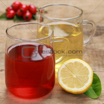 Red and yellow tea
