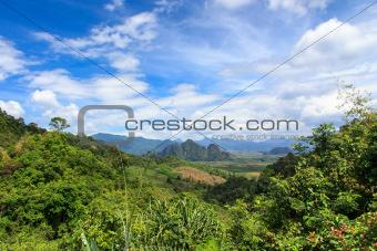 Khao Sok National Park viewpoint, Thailand.