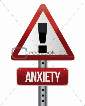 anxiety sign