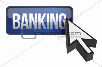 online banking button