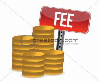 monetary fee concept