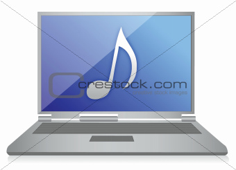 music laptop