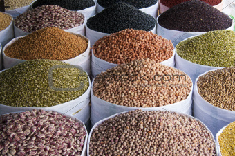 Beans and pulses, Hue, Vietnam