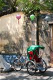 Rickshaw, Hoi An, Vietnam
