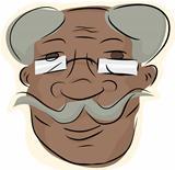 Handlebar Moustache Man