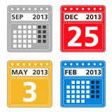 Calendar Icons