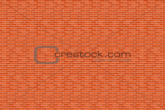 Big Horizontal Brick Wall